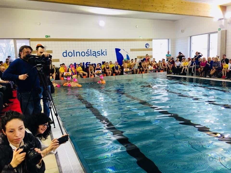 Oficjalne otwarcie basenu Dolnośląski Delfinek Strzegom