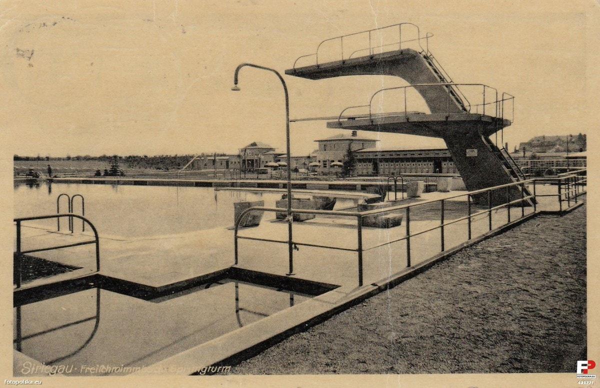 Basen miejski Strzegom lata 1930-1940