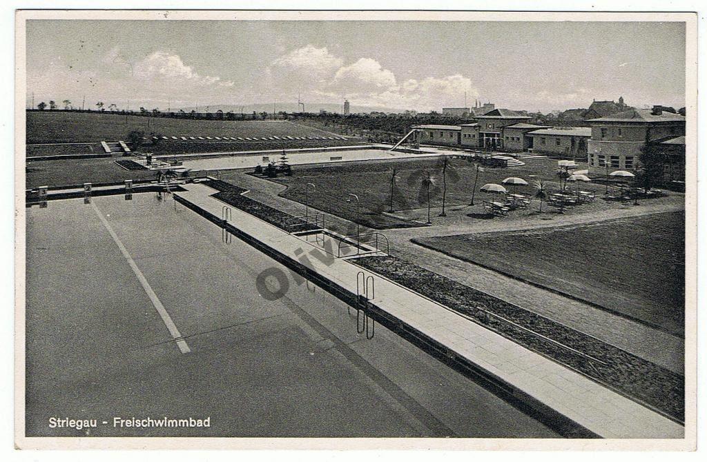 Basen miejski Strzegom lata 1930-1945