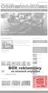 Reklama na OSiR.STRZEGOM.PL