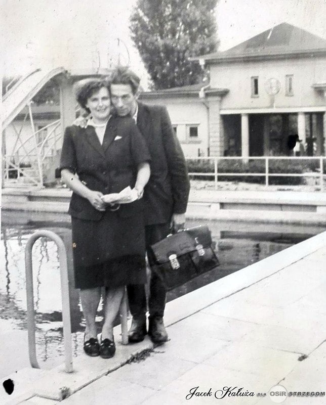 Strzegomskie baseny lata 50 / z kolekcji p.Jacek Kałuża
