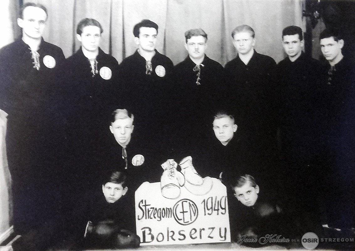 Bokserzy 1945 / z kolekcji pana Jacka Kałuży