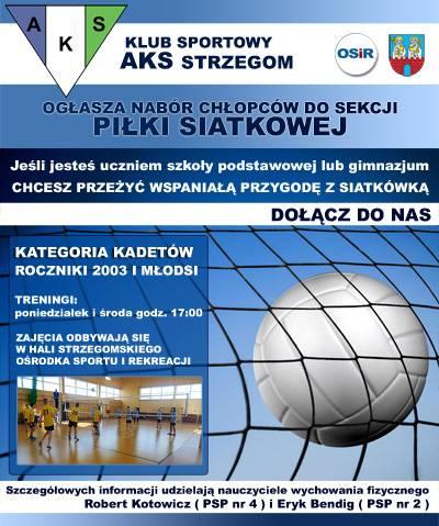 Sekcja Piłki Siatkowej AKS Strzegom