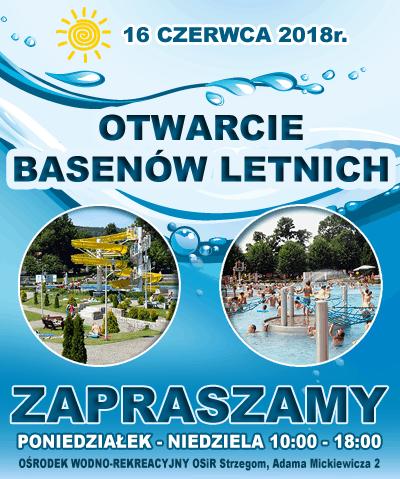 Sezon 2018 - basen letni OSiR Strzegom