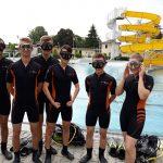 Nurkowanie klas mundurowych LO