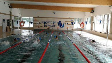 Zawody pływackich - Strzegom