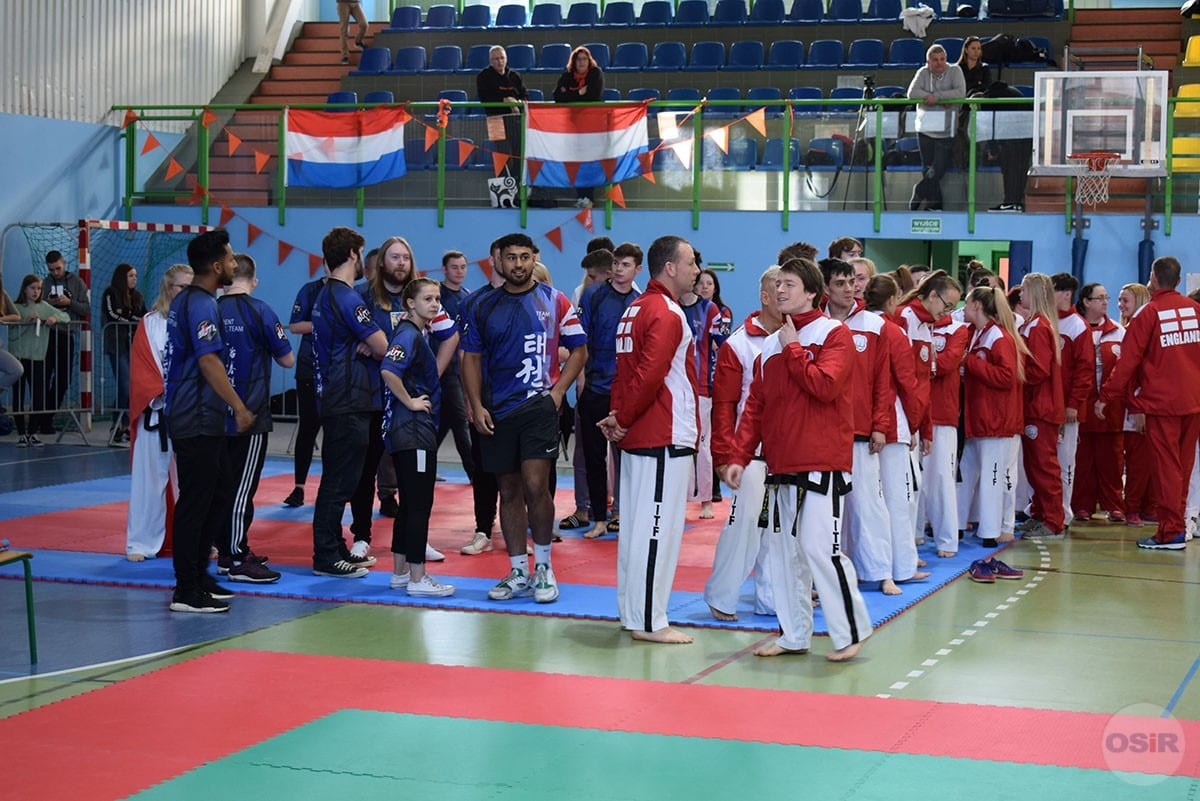Otwarte Mistrzostwa Europy Taekwon-do ITF HQ Korea