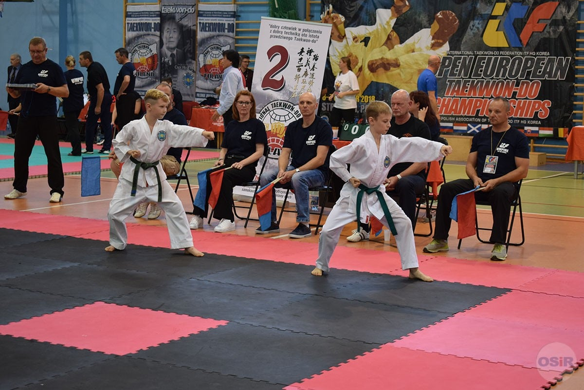 Open European ITF HQ Korea Taekwon-Do Championships 2018