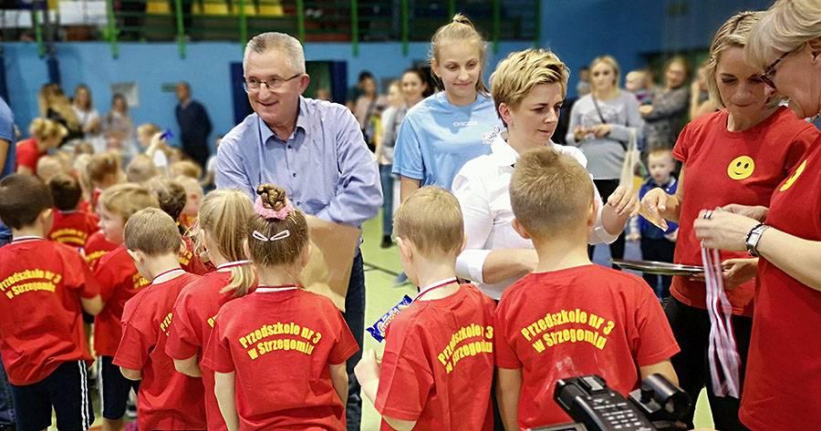 X Turniej Sportowy Przedszkolaka - OSiR Strzegom