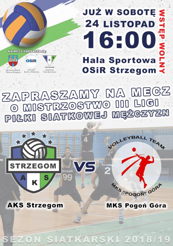AKS Strzegom vs. MKS Pogoń Góra