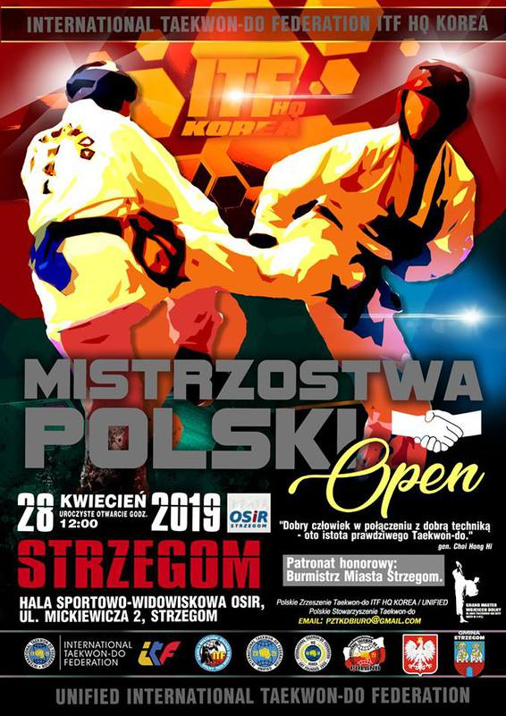 Mistrzostwa Polski Taekwon-do ITF hq Korea / UNIFIED ITF