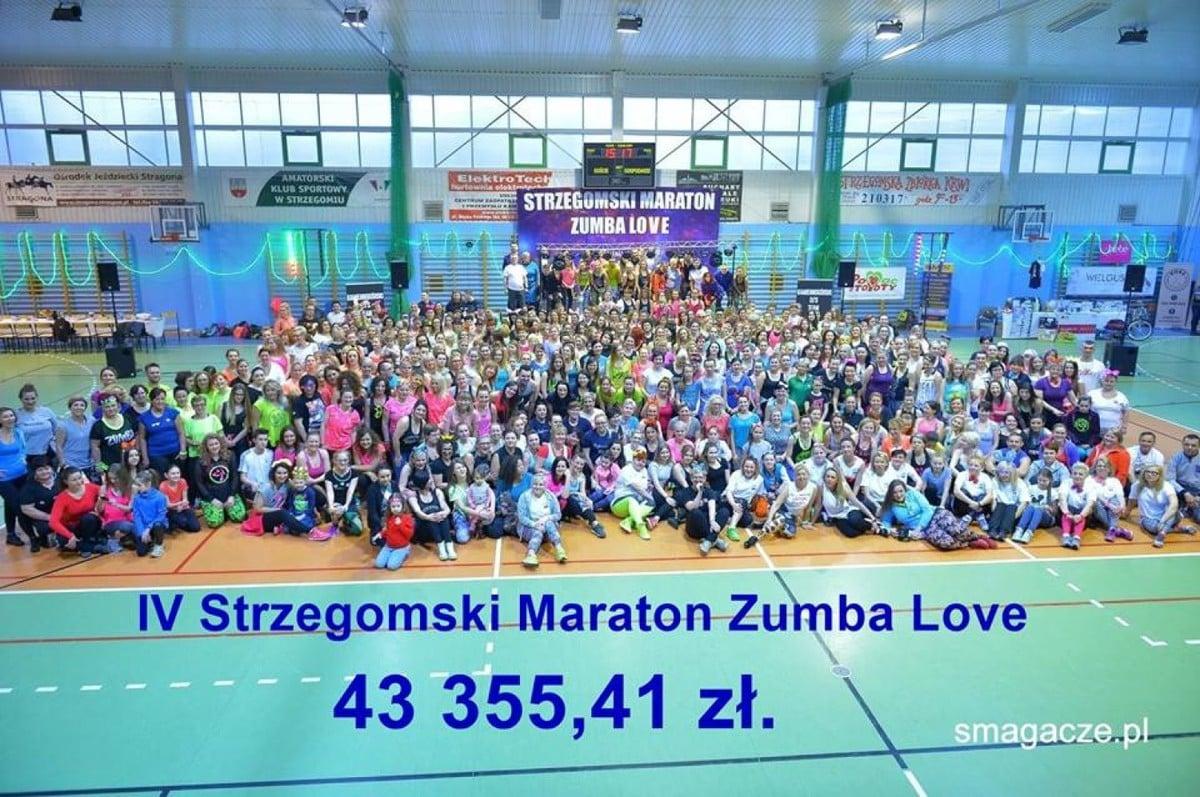 IV Maraton ZUMBA Love 2016 Strzegom