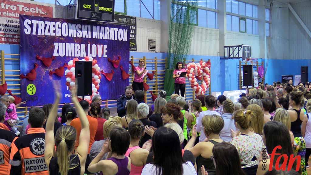 V Maraton ZUMBA Love 2016 Strzegom