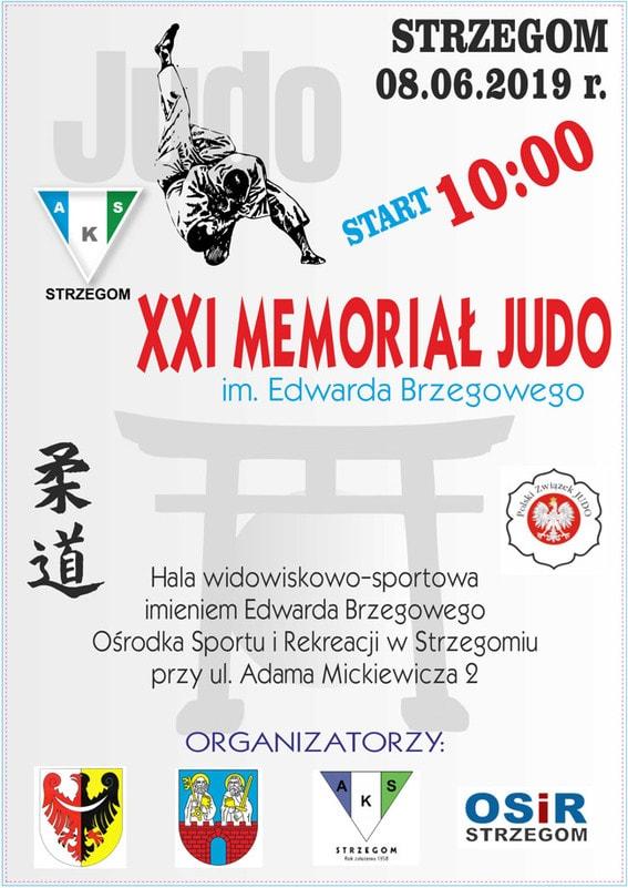 XXI Memoriał Judo im.Edwarda Brzegowego