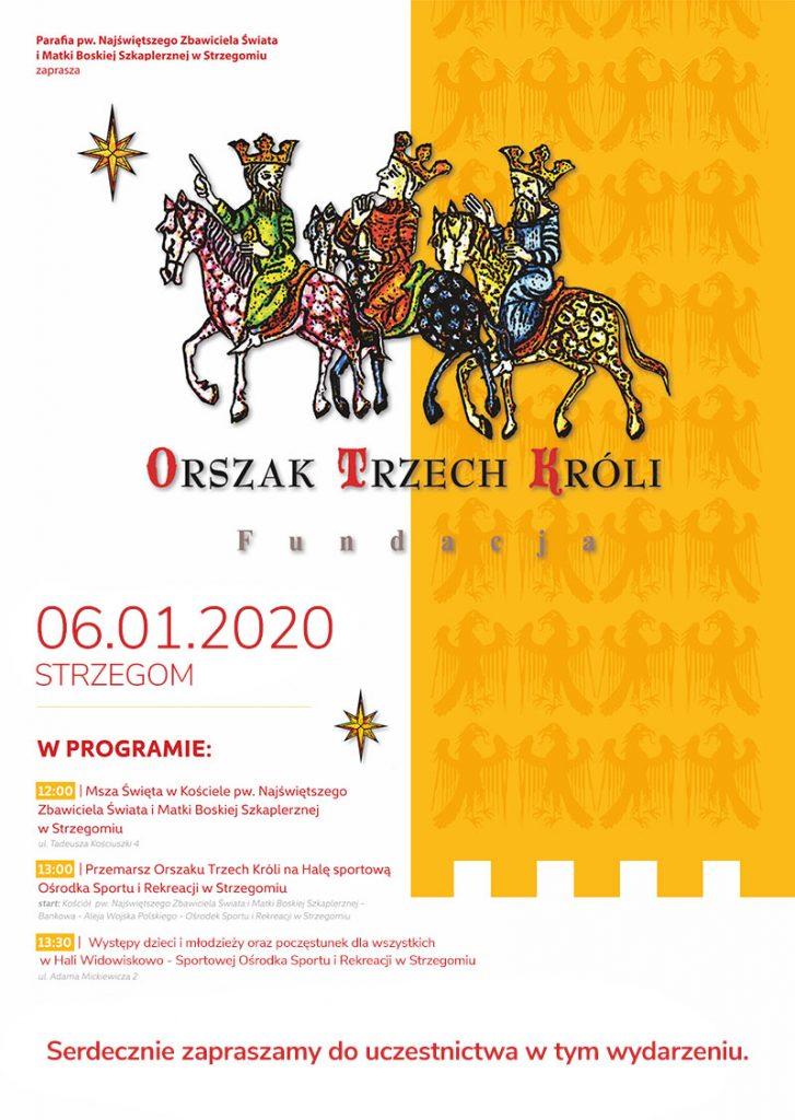 Orszak Trzech Króli Strzegom 2020
